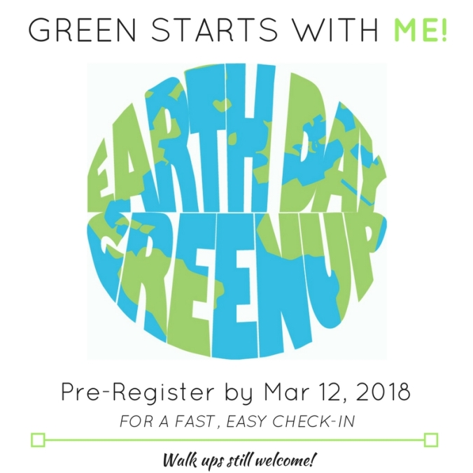 GREEN STARTS WITH ME!