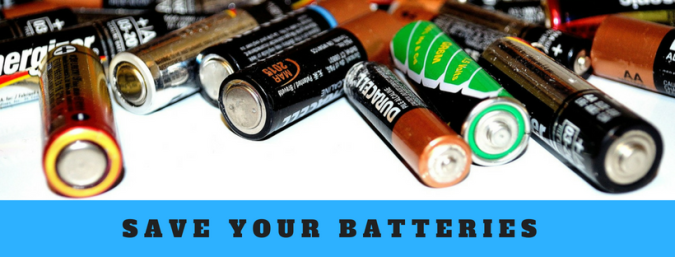 save your batteries