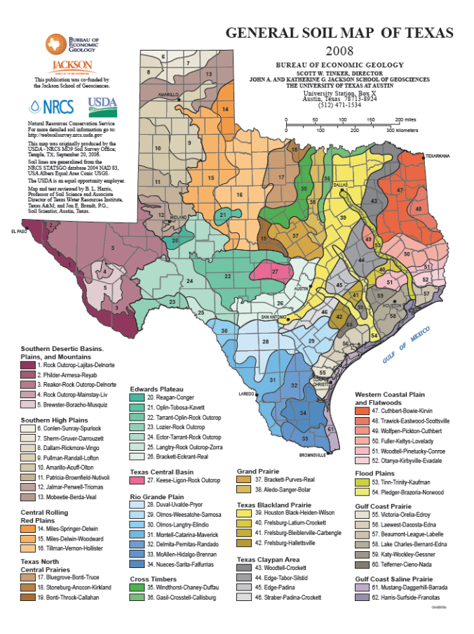 Map Of Texas University Austin.November 2018 The Woodlands Township Environmental Services