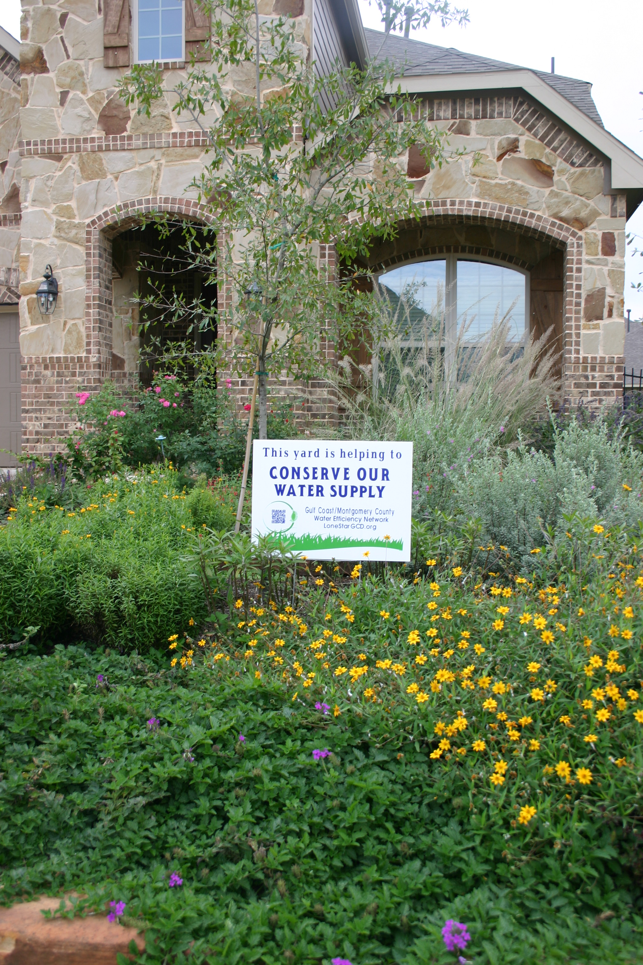 Water Conservation Yard Sign 3